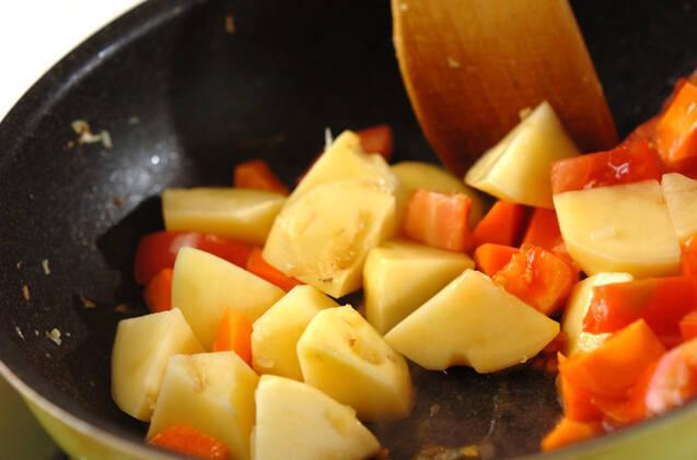 チキンカレーの作り方の手順9