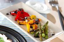 グリル彩り野菜