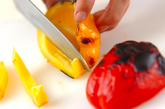 グリル彩り野菜の作り方2
