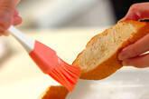 こんがりガーリックトーストの作り方4