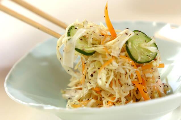 たっぷり野菜のユカリもみの作り方の手順5