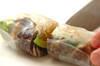 臭みなし!カツオとアボカドの生春巻きの作り方の手順7