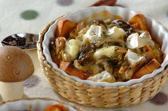 カマンベールチーズのパングラタン