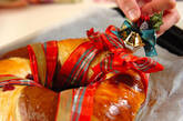 クリスマスリースパンの作り方12