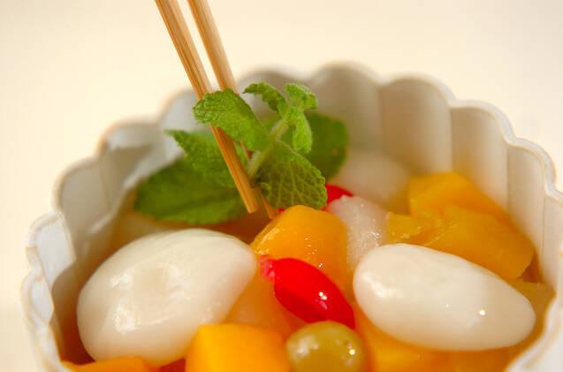 白玉フルーツの作り方の手順4