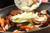 レバーとシイタケの炒め物の作り方6