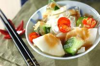 梨と白菜のサラダ