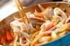 イカのマヨ炒めの作り方の手順5