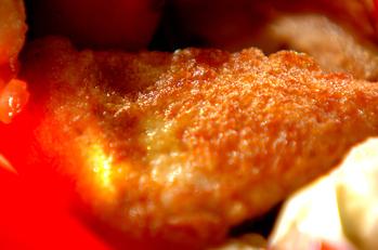 鶏ささ身のチーズピカタ