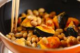 血行促進☆カボチャと大豆の甘辛炒めの作り方2