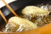 揚げナスのタレがらめの作り方2
