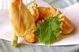 キスと春野菜の天ぷらの作り方の手順13