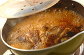 鯛とゴボウのあら炊きの作り方3