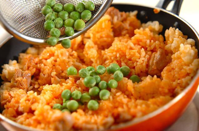 チキンオムライスの作り方の手順5