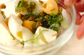 ゆで卵とザーサイの和え物の作り方2