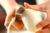 カブとレンズ豆のスープの作り方の手順1