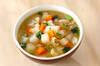 カブとレンズ豆のスープの作り方の手順
