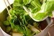 しろ菜の煮浸しの作り方1