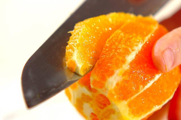 フルーツサラダのヨーグルトソースの作り方の手順1