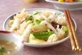 イカとキクラゲの炒め物