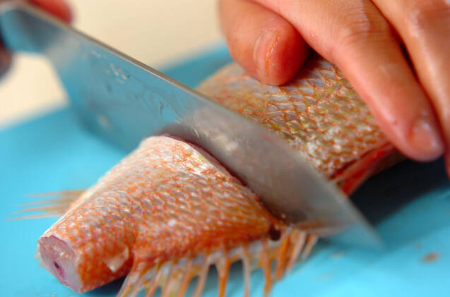 魚介のスープの作り方の手順1