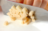 タケノコの炒めご飯の作り方1