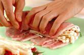 豚肉ロールの照り焼き丼の作り方4