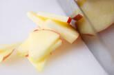 リンゴと大根のサッと漬けの下準備1