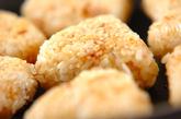 味つき焼きおにぎりの作り方3