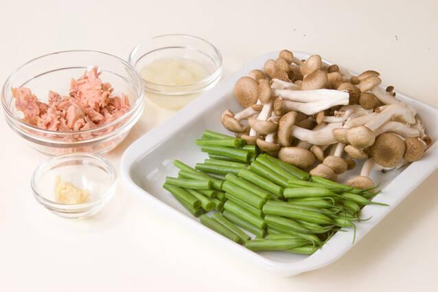 インゲンとツナのサラダの作り方の手順1