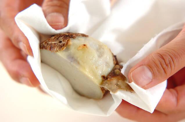 里芋団子入りかきたま汁の作り方の手順1