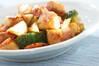 タラの豆板醤炒めの作り方の手順