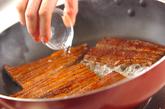 ウナ玉丼の作り方1