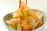 白菜のユズ風味漬けの作り方2