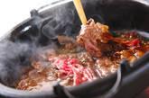 すき焼きの作り方2