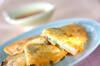 チヂミ風山芋お焼きの作り方の手順