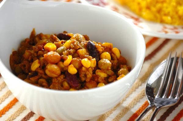 ごろごろ豆(ダル)カレーの人気レシピ18選♩大豆/ひよこ豆/レンズ豆etc
