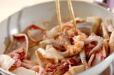 イカと野菜の中華炒めの作り方1