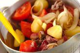 トマト肉じゃがの作り方1