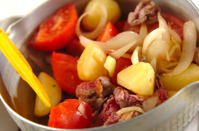 ダシ香る!トマト肉じゃがの作り方の手順6