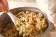 玄米キノコ炊き込みご飯の作り方3