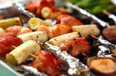 焼き鳥風オーブン焼きの作り方11