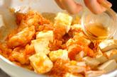 エビと豆腐のチリソースの作り方4