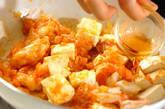 エビと豆腐のチリソースの作り方11