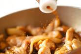 焼き鶏和風サンドの作り方3