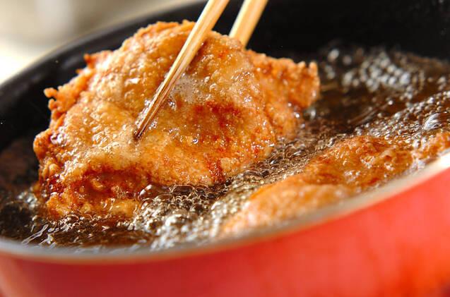揚げ鶏レモンソースがけの作り方の手順7