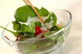 ヘルシーシーフードサラダの作り方3