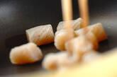 タケノコと鶏の土佐煮風の作り方6