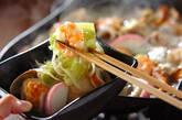 ホタテ、アサリのちゃんぽん鍋の作り方12