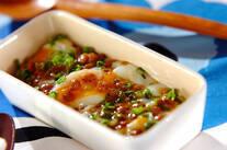 温泉卵納豆